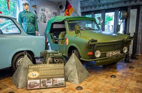 Le musée de la Trabant, photo: Archives de Martin Hucl