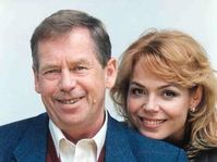 Vaclav Havel and Dagmar Havlova