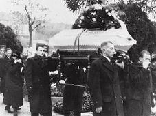 Václav Sedláček Beerdigung (Foto: Archiv von Josef Leikert)