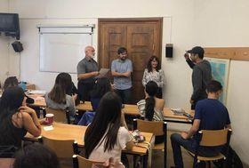 Los estudiantes mexicanos del Instituto Tecnológico de Monterrey, foto: Centro de Estudios Iberoamericanos