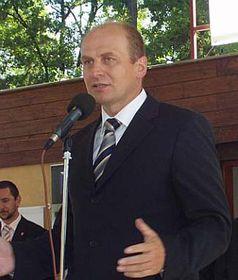 Ministro de Agricultura, Petr Gandalovič