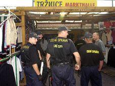 Descentes de la police et de la douane dans les marchés forains, photo: CTK