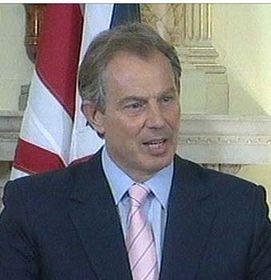Primer ministro británico, Tony Blair (Foto: CTK)
