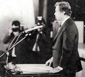 Vaclav Havel, 1989