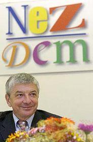 V čele nové politické strany Nezávislí demokraté stanul Vladimír Železný, foto: ČTK