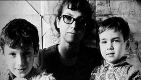 Natalya Gorbanevskaya with her sons, photo: Czech Television