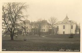 Замок Ланы в 1930-х годах, фото: Архив Музея ТГМ в Раковнике