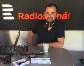 Petr Koudela, foto: Olga Kořánková, archiv ČRo