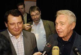 Jirí Paroubek y Jirí Krampol (Foto: CTK)