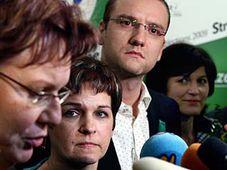 Слева: Дана Кухтова, Вера Якубкова, Мартин Чаславка и Ольга Зубова (Фото: ЧТК)