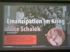 Präsentation des Ausstellungsprojektes in Augsburg (Foto: Martina Schneibergová)