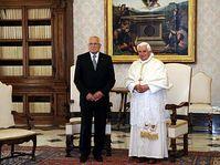 Václav Klaus y Papa Benedicto XVI, foto: ČTK