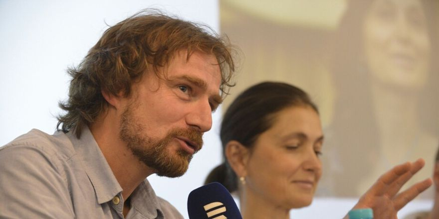 Janek Kroupa, photo: Khalil Baalbaki / Czech Radio