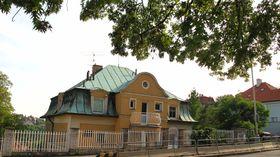 Дом на Шведской улице, в котором жила Марина Цветаева (Фото: Катерина Айзпурвит)
