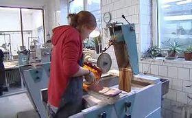 La escuela del arte del vidrio en Kamenický Šenov, foto: ČT24