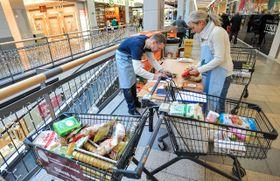 La grande collecte nationale de denrées alimentaires, photo: ČTK