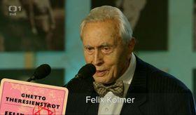 Felix Kolmer, photo: Czech Television