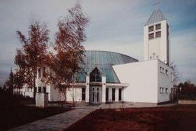 The church in Prague's Jižní město, photo: archive of Tomáš Bísek