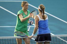 En pleine confiance ces dernières semaines, Petra Kvitová a abordé sans complexes son match contre Kim Clijsters, photo: CTK