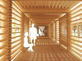 Konzept für den tschechisch-slowakischen Pavillon (Foto: www.e-mrak.cz)