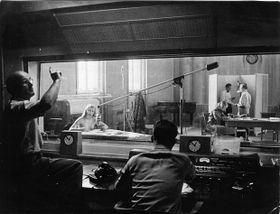 Radio Free Europe studio in Munich, photo: archive of RFE