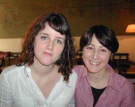 Sandra Castiñeiras Carballo (a la derecha) y Marta Guerrero Nieto (Foto: autor)