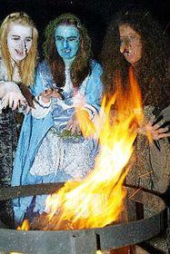 La quema de brujas (Foto: CTK)
