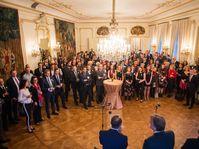 La réunion des sections tchèques à l'ambassade de France à Prague, photo: Štěpán Hon / Site officiel de l'ambassade de France à Prague