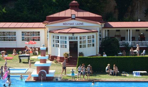 La piscine de Mšeno, photo: Eva Turečková