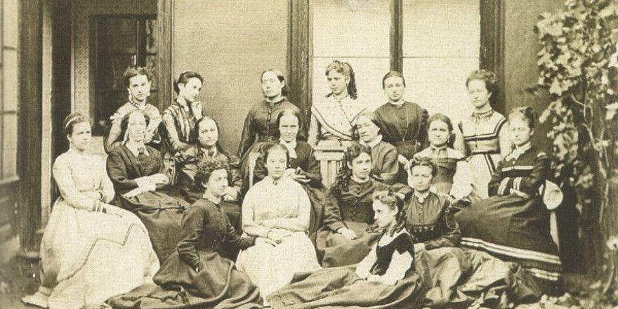 Le Club américain des dames, photo: Musée national