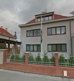 La Embajada paquistaní en Praga, foto: Google Street View