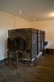 Verbrennungsofen im Krematorium im KZ-Flossenbürg (Foto: www.wikimedia.org)