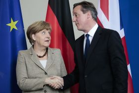 Angela Merkel et David Cameron, photo: ČTK