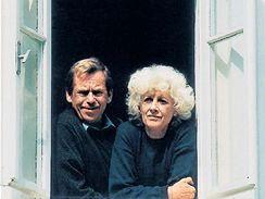 Václav Havel et Olga