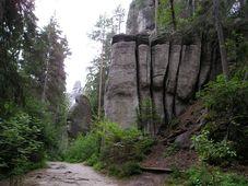 Les rochers d'Adršpach-Teplice, photo: Magdalena Kašubová
