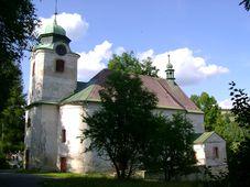 Kostel sv. Martina ve Zlaté Olešnici, foto: Jirka23, Wikimedia Commons, CC BY-SA 3.0