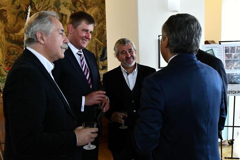 Tomáš Petříček y delegación portuguesa, foto: Antonín Nádvorník, MZV