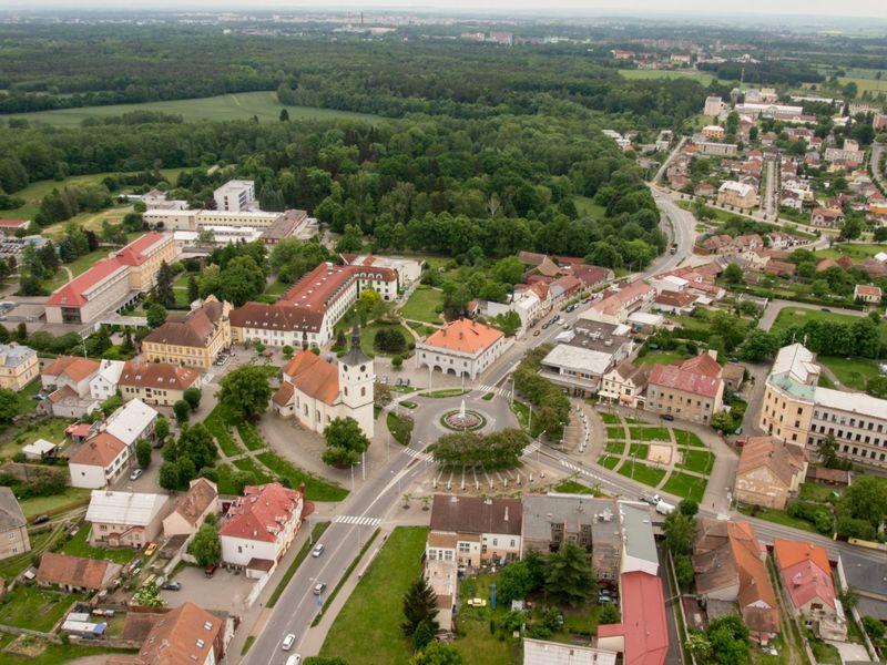 La ciudad Lázne Bohdaneč (Balneario Bohdaneč), foto: Pavel Tomiška, ČRo