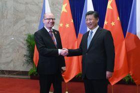 Bohuslav Sobotka navštívil Čínu, foto: ČTK