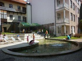 Prostor před Sladovnou, foto: Zdeňka Kuchyňová