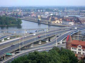 Порт в Щецине, Фото: CC BY-SA 3.0