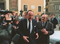 Hans-Dietrich Genscher, September 30 1989, photo: CTK