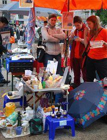 Flohmarkt (Illustrationsfoto: Anne-Claire Veluire, Radio Prague)