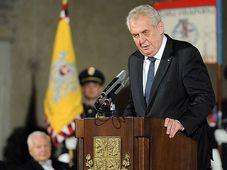 Miloš Zeman, foto: Filip Jandourek