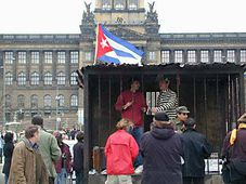 Campaign against repression in Cuba, photo: Radio Prague