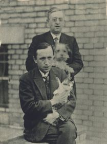 Karel Čapek con su hermano Josef, foto: Faculty of Social Sciences, Charles University in Prague