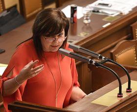 Alena Schillerová, foto: Michal Krumphanzl, archiv ČRo