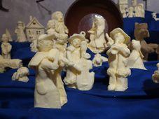Máslový betlém v Máslovicích, foto: Martina Schneibergová