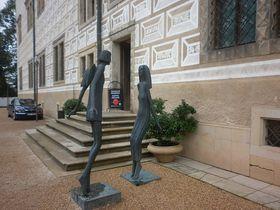 Les sculptures d'Olbram Zoubek, photo: Zdeňka Kuchyňová
