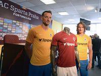 Les nouveaux maillots de Sparta Prague, photo: ČTK/Kateřina Šulová
